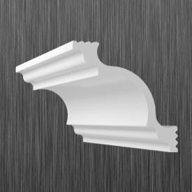 Плинтус потолочный багет Киндекор K-150 100x100