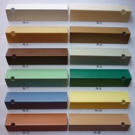 Угол пластиковый ПВХ однотонный Mak Польща 2,7 м 15x15