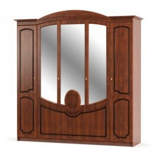 Шкаф 5д Мебель-Сервис Барокко 220х179х59 см