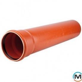 Труба канализационная Magnaplast KG с раструбом SN 2 200x3,9/1000