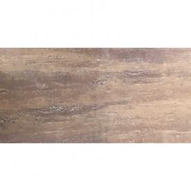 Керамогранитная плитка Casa Ceramica Traventino brown 60x120 см