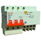 Дифференциальный автоматический выключатель ElectrO АД2-63 3 полюсы+N 16А 30мА 4,5kA (45AD63316E30)