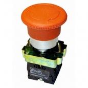 Кнопка-грибок з фіксатором ElectrO ВЅ542 червона 40 мм NO + NC (BS542NONCRF)