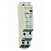 Модульний контактор ElectrO ПМм 2 полюси 25A NO+NC 230В (PMM225NONC)