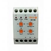 Автоматичне реле ElectrO ЇВ-11М 3 полюси + N 4 регулювання 380В (EL11M3N4)