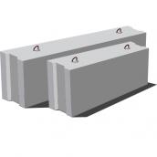 Фундаментный блок ФБС 12.3.6Т 1180х580х300 мм