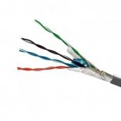Кабель FTP 4х2х0,51 CCA ПВХ сірий ElectroHouse (EH.LAN-22)