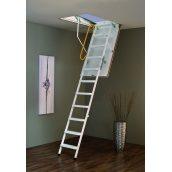 Горищні сходи Steel Termo 120х60 см Minka біла металева з утепленим люком