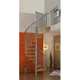 Винтовая лестница MINKA SPIRAL Effect 160 см серебро