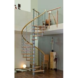 Гвинтові сходи MINKA VENEZIA 120 см срібло
