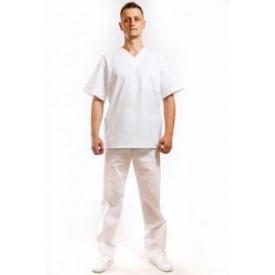Костюм хирурга 3003 белый 64-66/3-4 (80007)