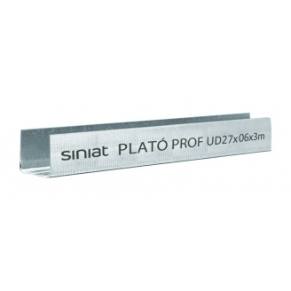Профиль SINIAT PLATO Prof UD металлический 27x3000x0,45 мм