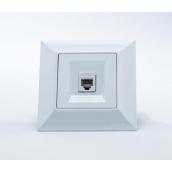 Розетка Gunsan Neoline аудіо одинарна біла (1421100100133)