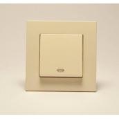Кнопка контролю освітлення Gunsan Eqona крем (1401200100105)