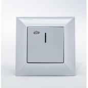 Кнопка контроля освещения Gunsan Neoline с подсветкой белая (1421100100106)