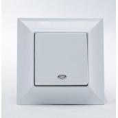 Кнопка контроля освещения Gunsan Neoline белая (1421100100105)