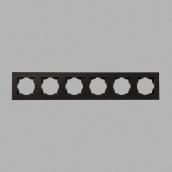 Рамка Gunsan Eqona 6-я чорна (1401400000147)