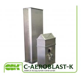 Повітряна завіса канальна C-AeroBlast-K