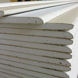 Гіпсокартон стельовий Plato Lafarge 9,5x1200x2500 мм