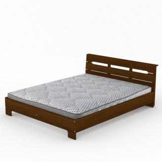 Кровать Компанит Стиль-160 орех