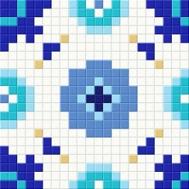 Мозаичный патерн D-CORE 240х240 мм (dec03)