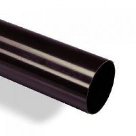Водостічна труба Wavin Kanion 50х3000 мм чорна