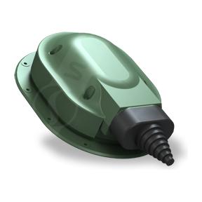 Прохідний елемент Wirplast Normal S23 зелений RAL 6020