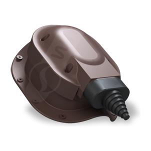 Прохідний елемент Wirplast Perfekta S48 коричневий RAL 8019