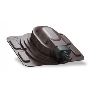 Прохідний елемент Wirplast Uniwersal S25 коричневий RAL 8019