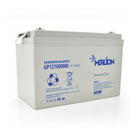 Акумуляторна батарея Merlion GP121000M8 12V 100h(6019)