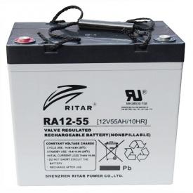Акумуляторна батарея RITAR RA12-55 12V 55.0 Ah (6238)