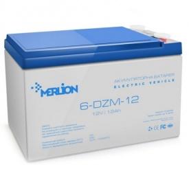 Акумуляторна батарея MERLION 6-DZM-12 12Ah F19(3906)