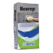Цементный ремонтный раствор Neotex Neorep армированный волокном 25 кг серый
