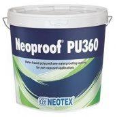 Модифицированный компаунд Neotex Neoproof PU360 полиуретановый эластомерный 13 кг белый
