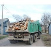 Вивіз будівельного сміття автомобілем КАМАЗ
