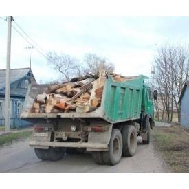 Вывоз строительного мусора автомобилем КАМАЗ