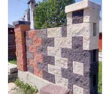 Декоративний колотий блок Рваний камінь 19х10х39 см
