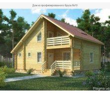 Дом из профилированного бруса 8х10 м