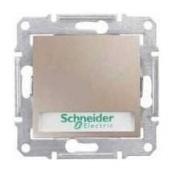Выключатель кнопочный Schneider Electric Sedna SDN1600368 с надписью и подсветкой титан