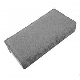 Тротуарна литка цеглинка сіра