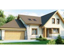 Строительство дома из профилированного бруса 18x13 м