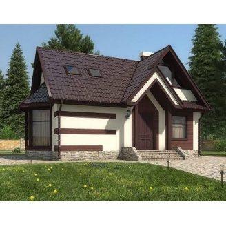 Дом из профилированного бруса 6х10 м
