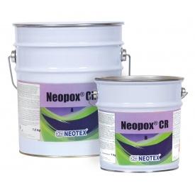 Эпоксидная краска Neotex Neopox CR A+B 10 кг черная