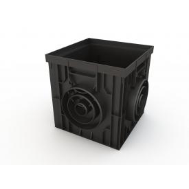 Дождеприемник пластиковый 300х300 мм черный