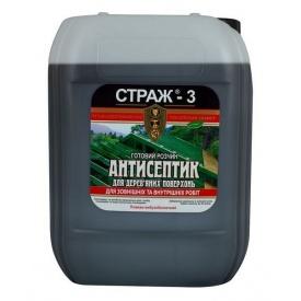 Антисептик СТРАЖ-3 биозащита для дерева 5 л