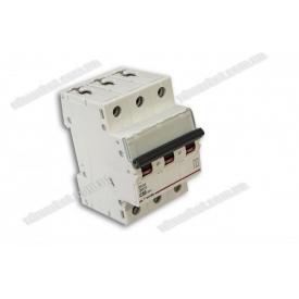 Автоматичний вимикач DX-63 3P 50A 6kA AC
