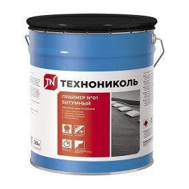 Праймер ТехноНИКОЛЬ №01 битумный 20 л