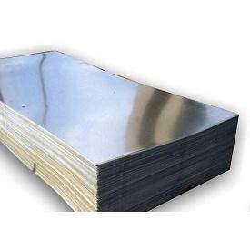 Лист плоский оцинкований 1250x2000x0,4 мм