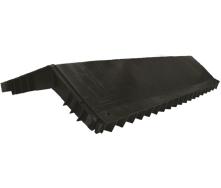 Коньковий аератор Polivent полімер 34х280х610 мм чорний