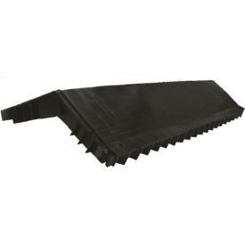Коньковый аэратор Polivent полимер 34х280х610 мм черный